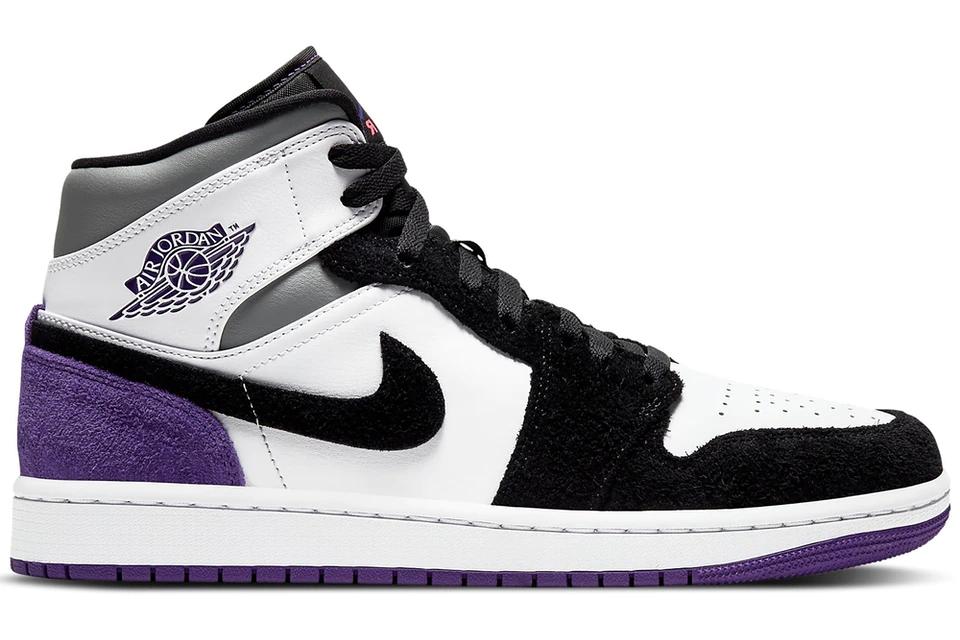 Кроссовки Jordan 1 Mid SE Purple