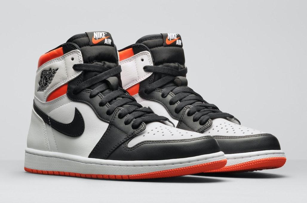 Кроссовки Jordan 1 Retro High Electro Orange
