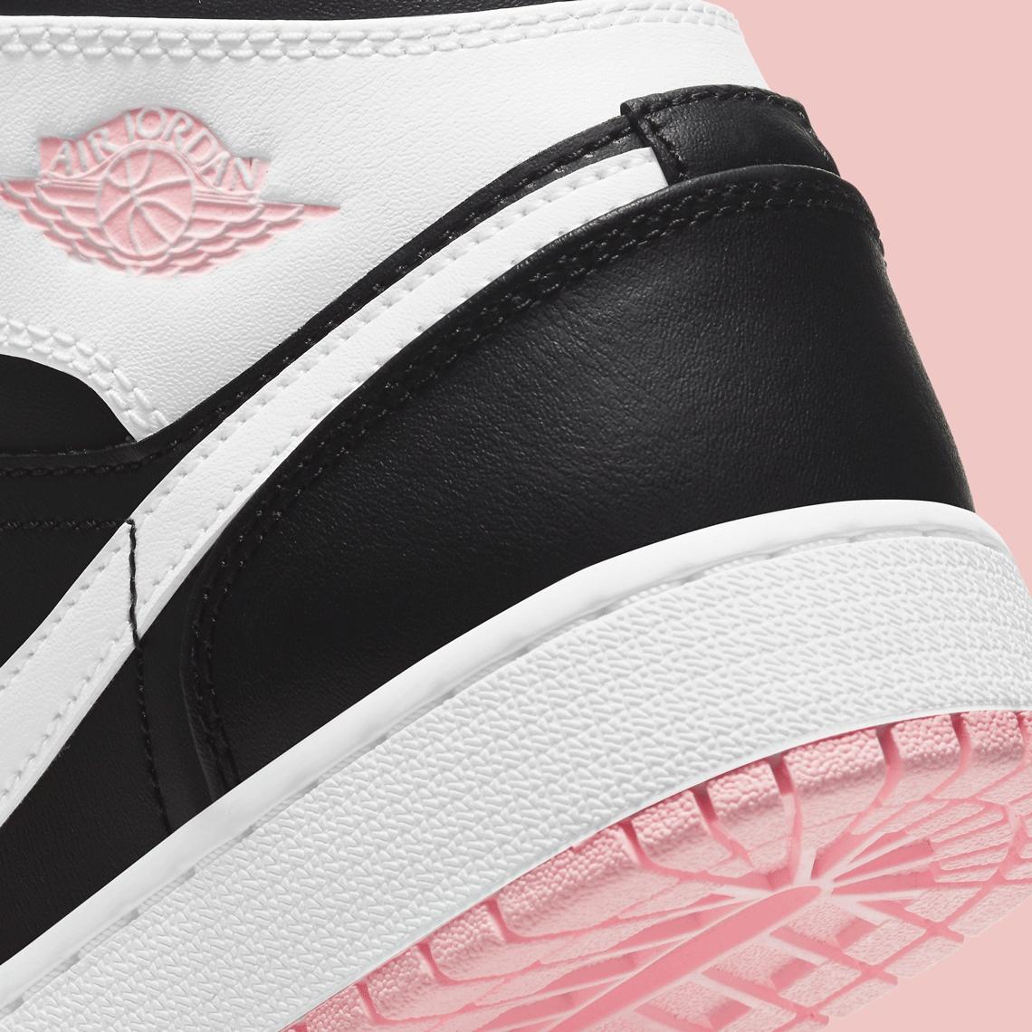 Кроссовки Jordan 1 Mid Arctic Pink Black