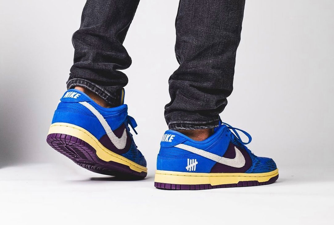 Кроссовки Nike Dunk Low Undefeated 5 On It Dunk vs. AF1