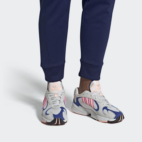 Кроссовки adidas Yung-1 White Orange Royal
