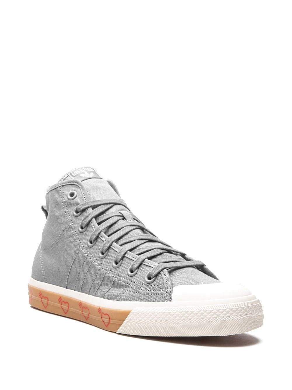 Кроссвоки adidas Nizza Hi Human Made Grey Five