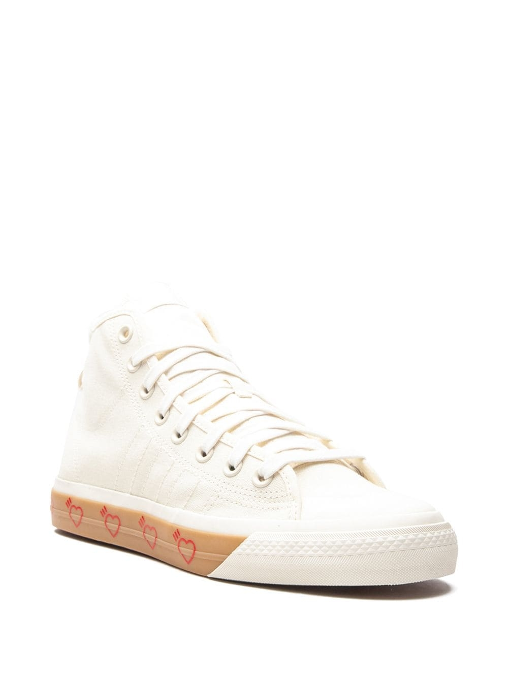 Кроссовки adidas Nizza Hi Human Made Off White