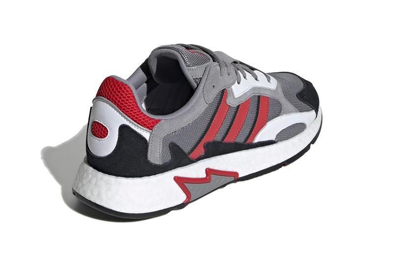 Кроссовки adidas Tresc Run Grey Scarlet Core Black