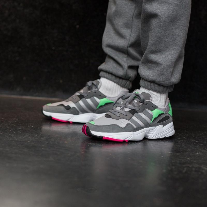 Кроссовки adidas Yung-96 Grey Shock Pink