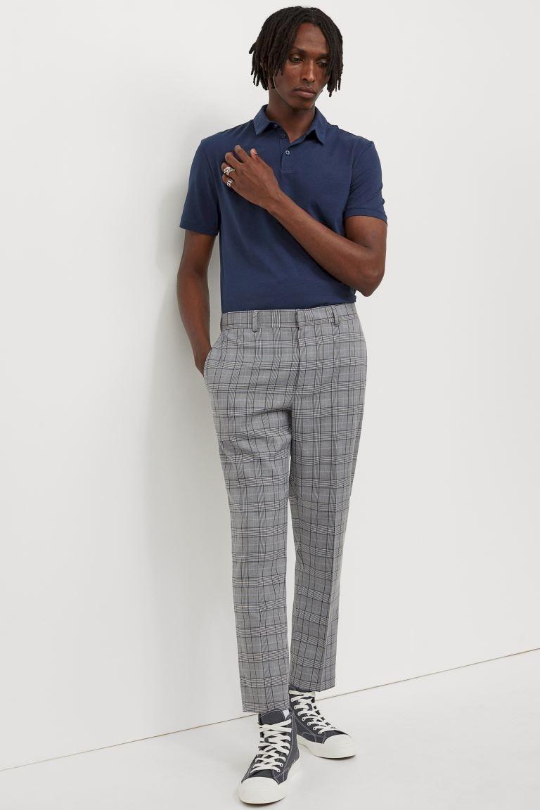 Укороченные брюки Slim Fit