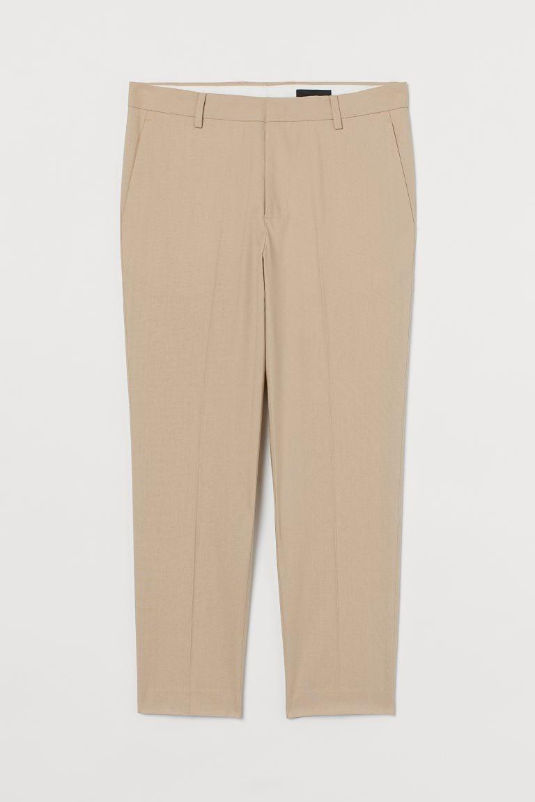 Костюмные брюки Slim Fit